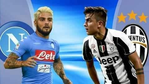 Napoli -Juventus, formacionet e mundshme