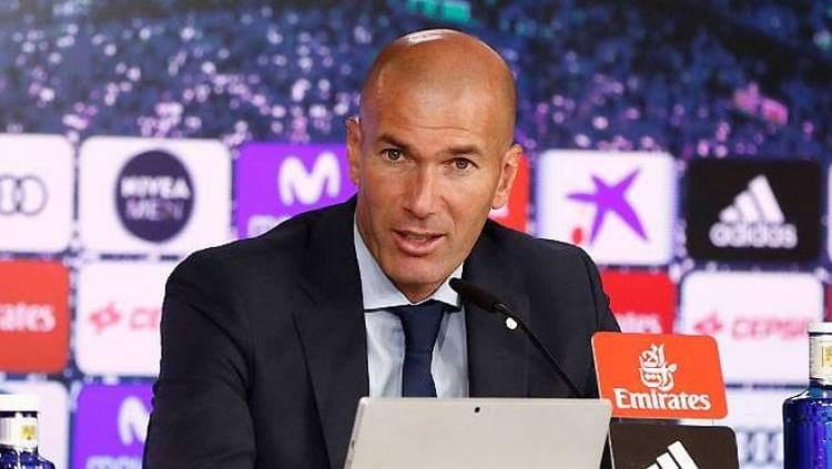 Nisin problemet për Zidane