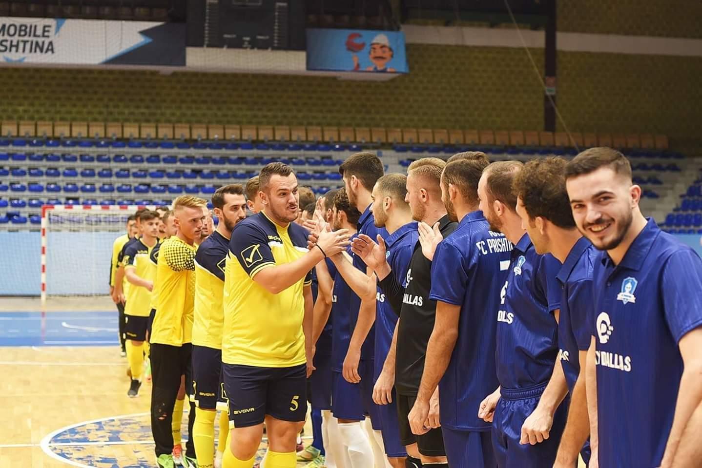 Futsall: FC Prishtina 01 e nis me fitore