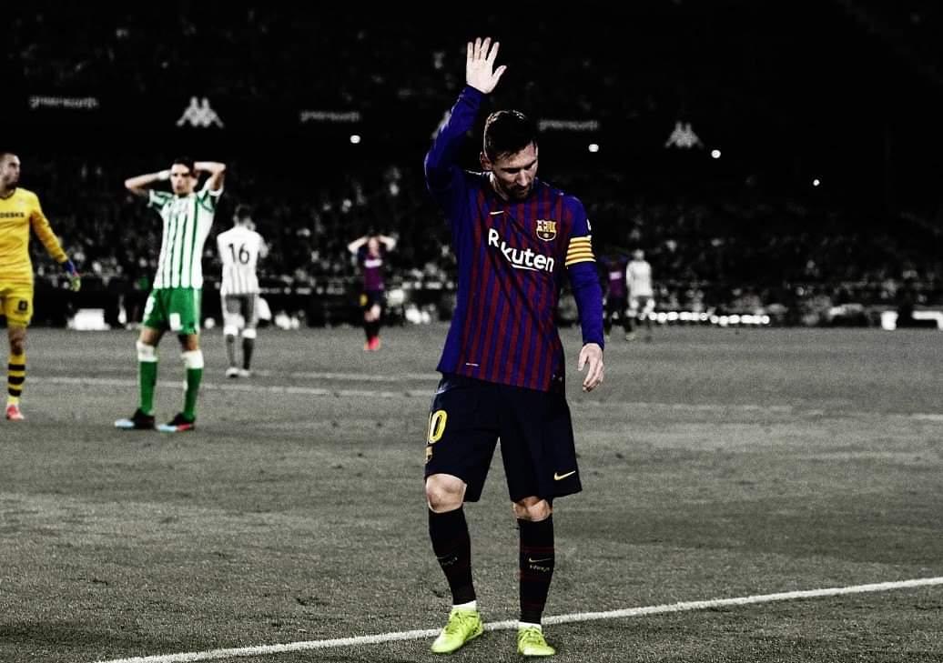Momenti kur Messi u duartrokitë nga tifozët e Betis