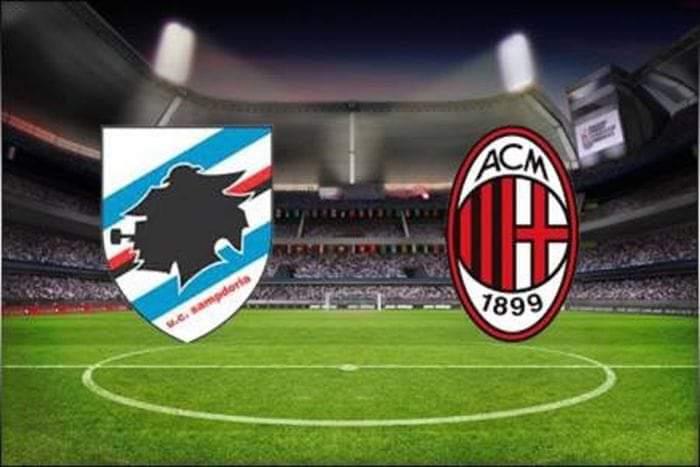 Sampdoria – Milan, formacionet zyrtare