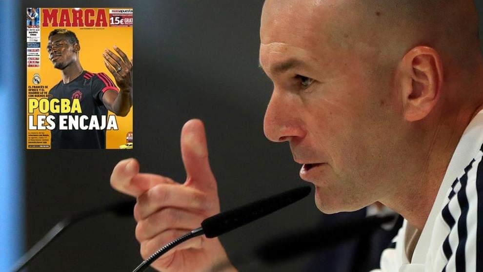 Zidane tregon nëse do ta tranferojë Pogban