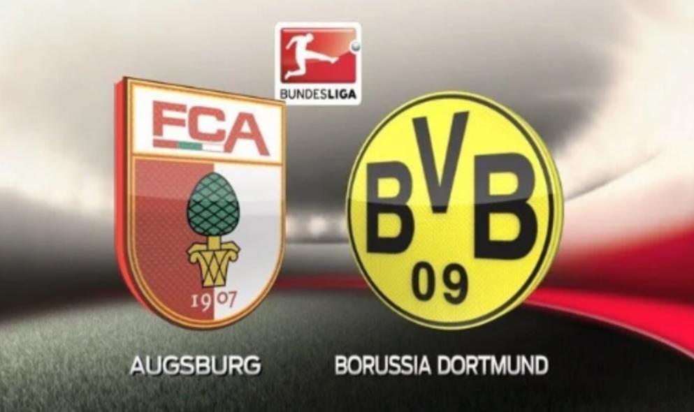Augsburg – Dortmund, formacionet zyrtare