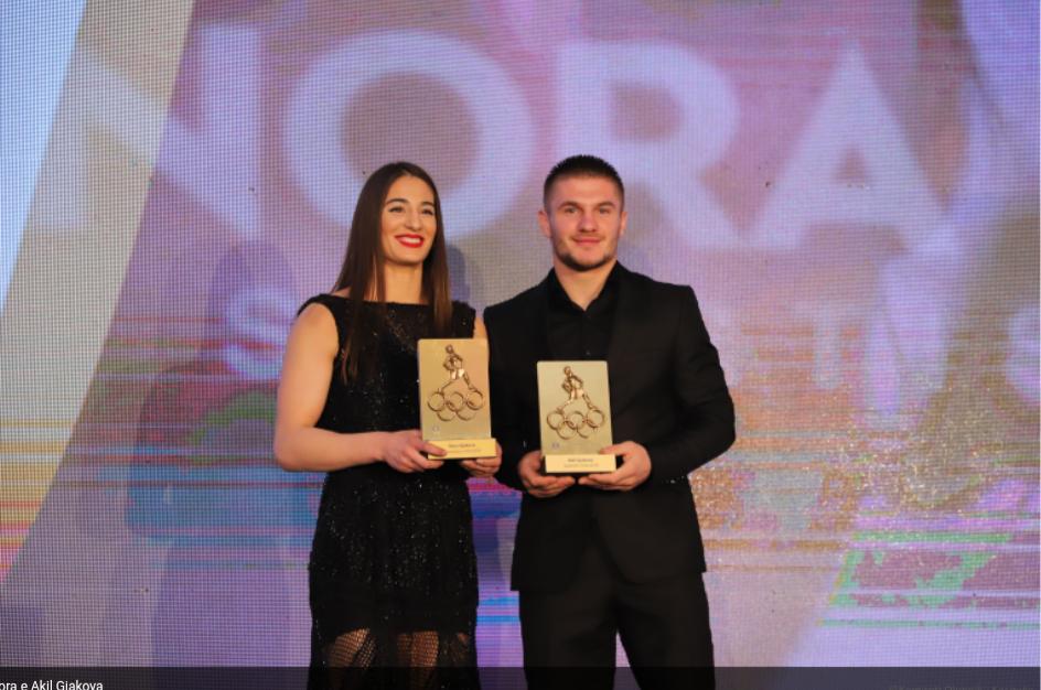 Nora e Akil Gjakova, mbretërit e sportit në Kosovë për vitin 2018