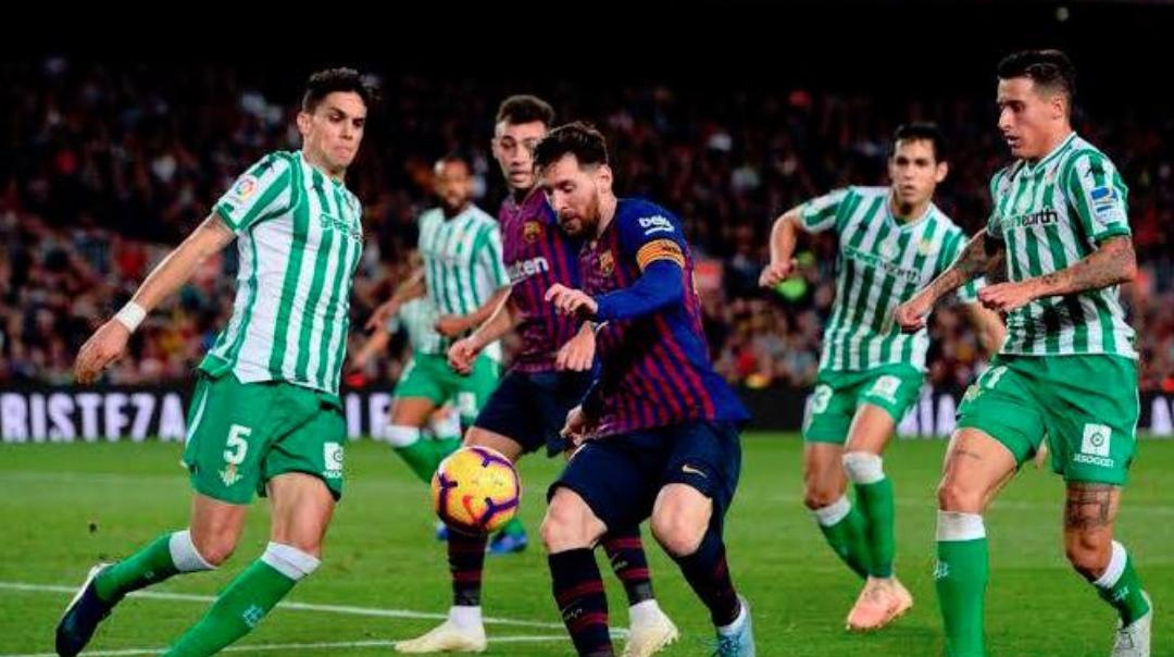 Nuk kanë të ndalur golat në ndeshjen, Betis – Barcelona