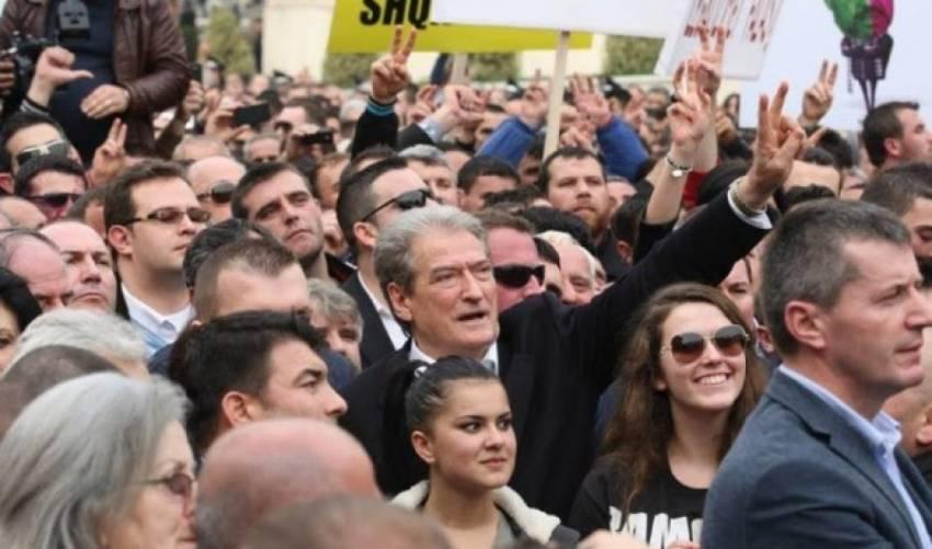 Berisha: Ky është cunami i vërtetë popullor, i cili po dridh nga themelet regjimin e kalbur të Edi Ramës