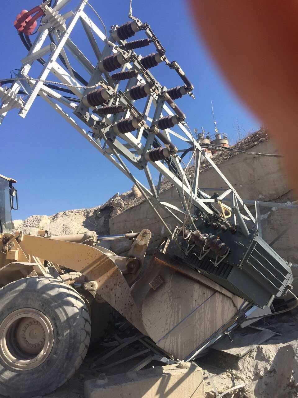 Një kompani private dëmton linjën 10k në Veternik të Prishtinës