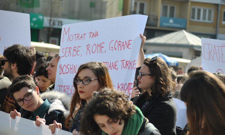 """Protesta e aktivitete në """"Muajin e Gruas"""""""