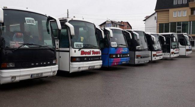 Që nga nesër autobusët Prishtinë-Podujevë do të jenë në grevë
