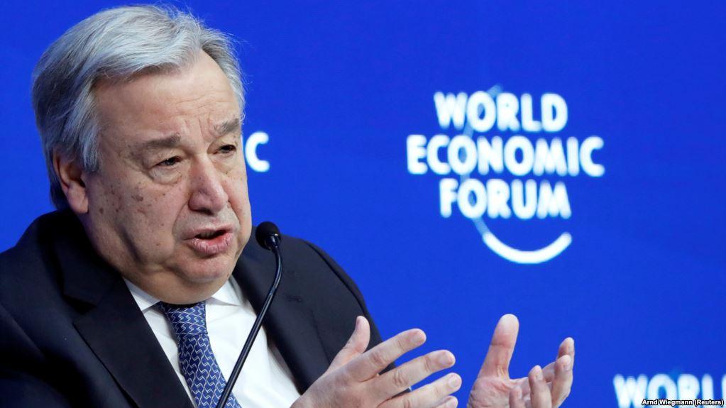 """Guterres paralajmëron """"katastrofë"""" nëse ngrohja nuk ndalet"""