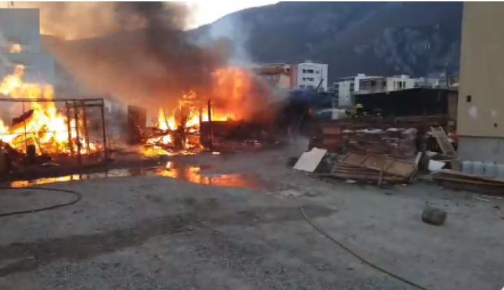 Përfshihet nga zjarri një objekt në komunën e Istogut