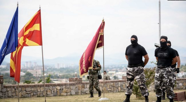 Incident në bazën kryesore ushtarake në Maqedoninë e Veriut