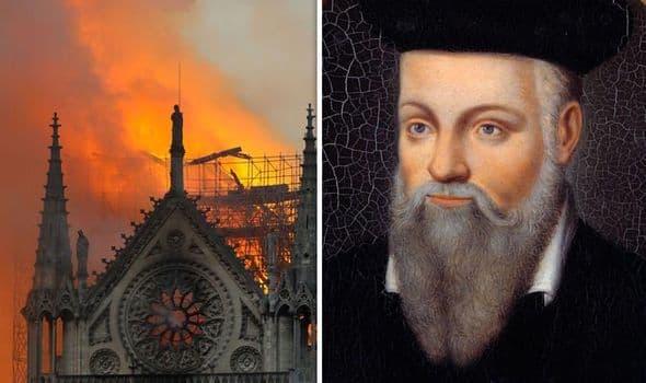 Profecia e Nostradamus për Notre Dame: Zonja jonë do të qajë për të gjithë ne dhe do të shkëlqejë në distancë
