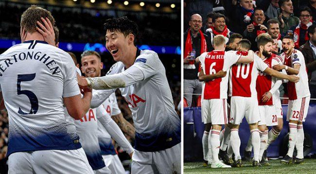 Tottenham – Ajax, formacionet e super gjysmëfinales