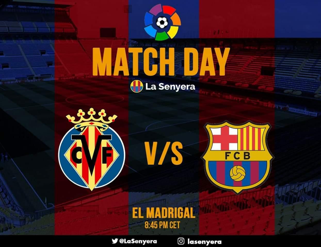 Lista e të ftuarve të Barcelonës për ndeshjen e nesërme kundër Villarrealit