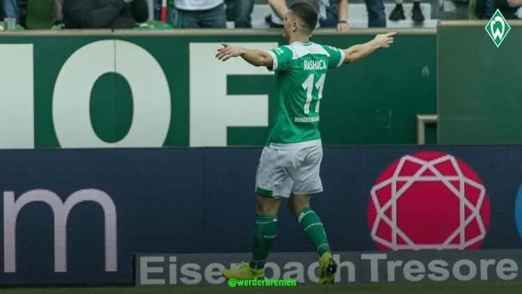 Milot Rashica shënon në humbjen e Werderit ndaj Bayernit