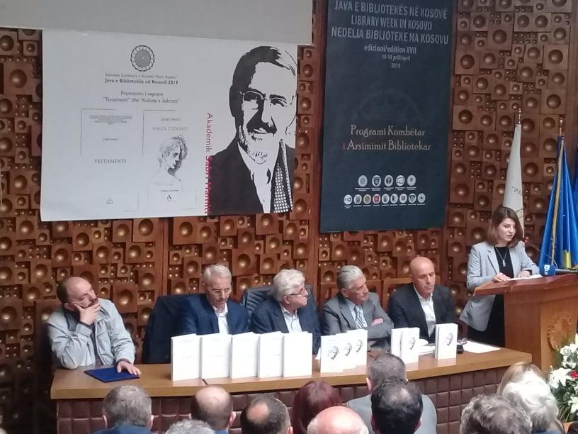 Promovohen dy libra të akademik Sabri Hamitit