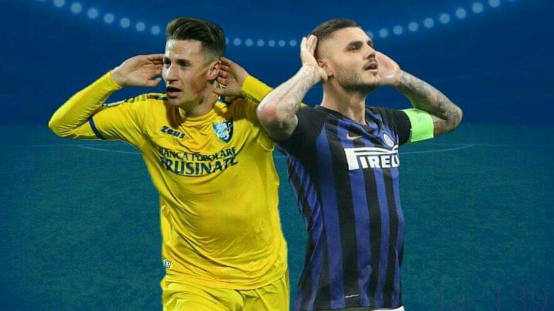 Frosinone – Inter, mbyllet me këtë rezultat