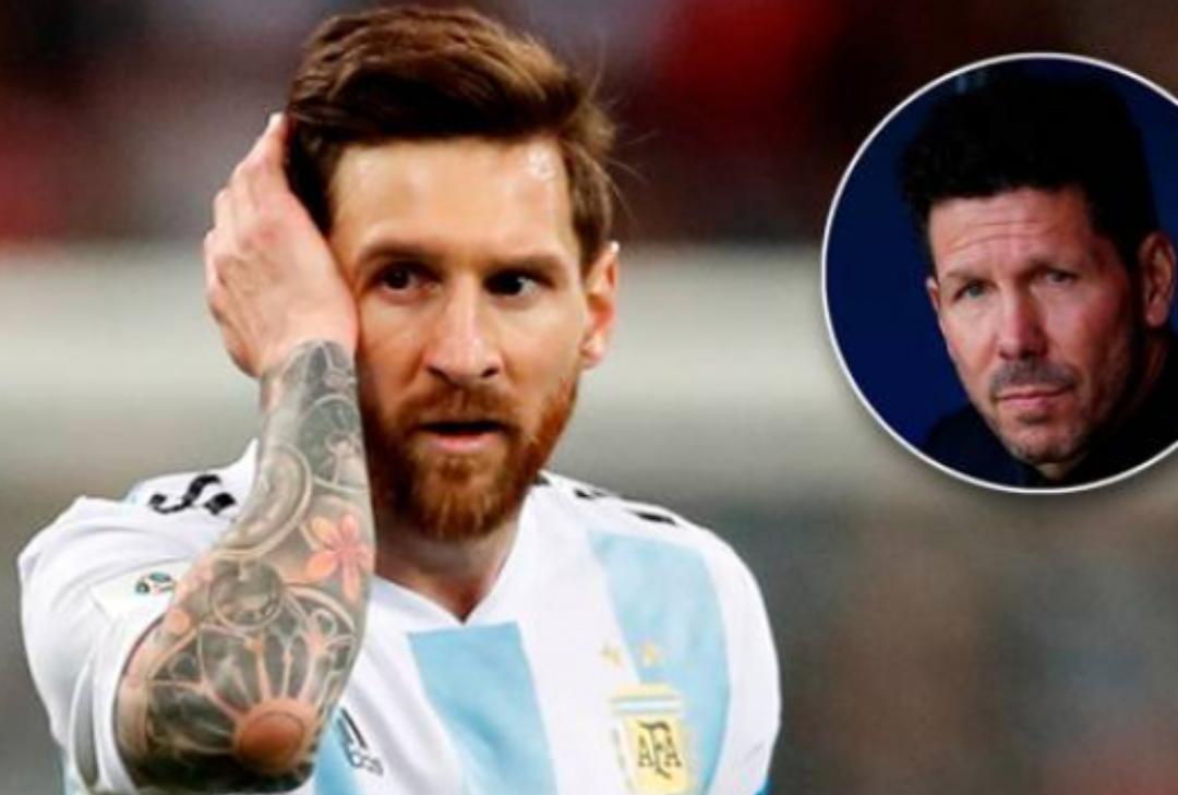 Simeone tregon pse Messi nuk po ka sukses tek kombëtarja e Argjentinës