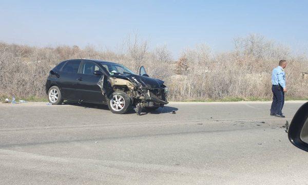Katër të lënduar në një aksident në Klinë