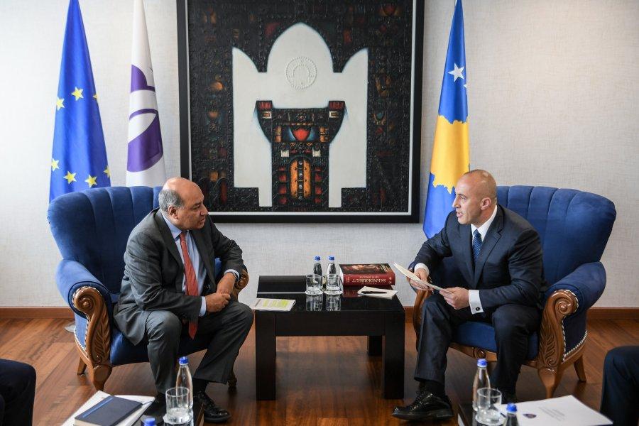 Haradinaj: BERZH ofron mbështetje për projektet që zhvillojnë ekonominë në Kosovë