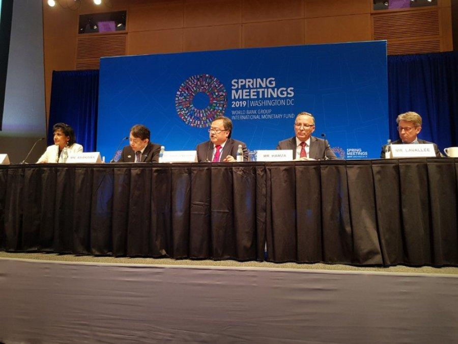 Hamza në SHBA flet për prioritet ekonomike të Kosovës