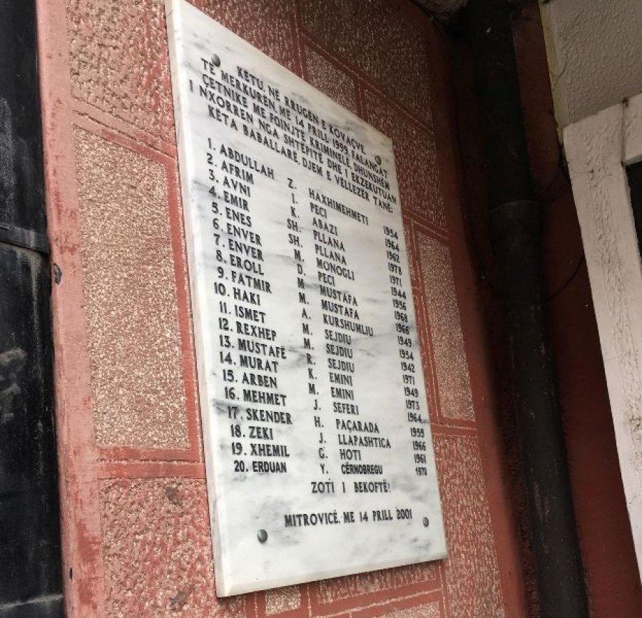 Në Mitrovicë përkujtohen rreth 30 civilët e vrarë, familjet s'i duan politikanët në homazhe