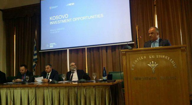 Mbahet Forumi i dytë Ekonomik Kosovë-Greqi në Athinë