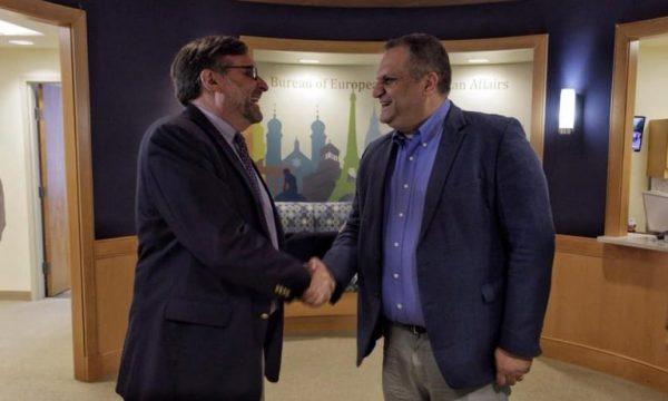 Ahmeti takohet me Palmerin në Uashington