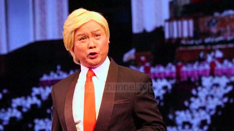 Donald Trump, personazh në Operën e Hong Kongut
