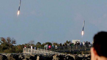 SpaceX kryen fluturimin e parë komercial