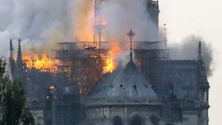Gjermania i jep mbështetje Francës për zjarrin që përfshiu Notre Dame në Paris