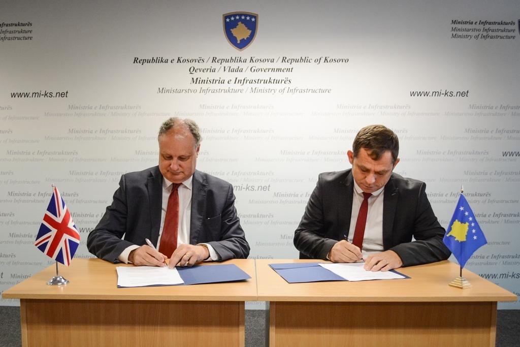 U nënshkrua  Protokolli Teknik i Bashkëpunimit në Fushën e Transportit me Britaninë e Madhe