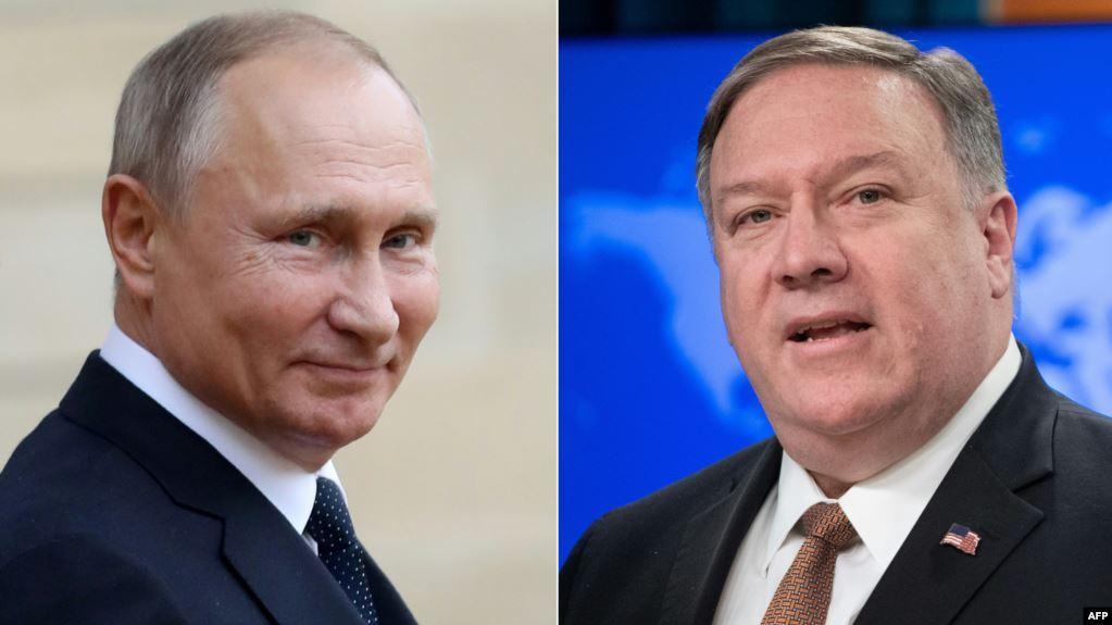Pompeo takon Putinin dhe Lavrovin