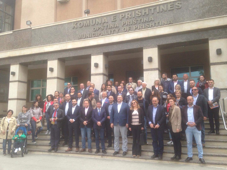 Arbëreshët e Italisë vizitojnë Komunën e Prishtinës