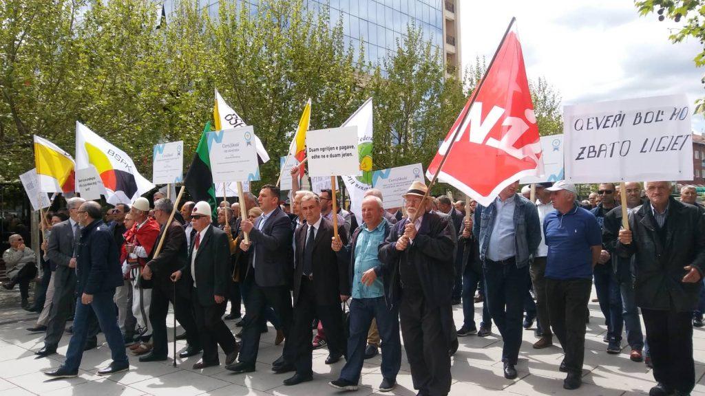 Protestohet në Prishtinë, kërkohet zbatimi i ligjit për punëtorët