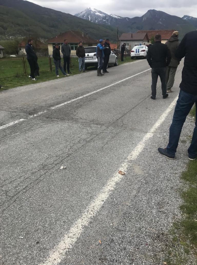 Disa ekstremistë serbë provokojnë shqiptarët në Martinaj të Gucisë