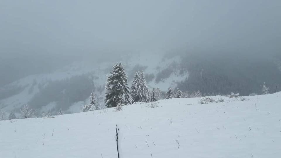 Ja sa ka arritur trashësia e borës në Rugovë të Pejës