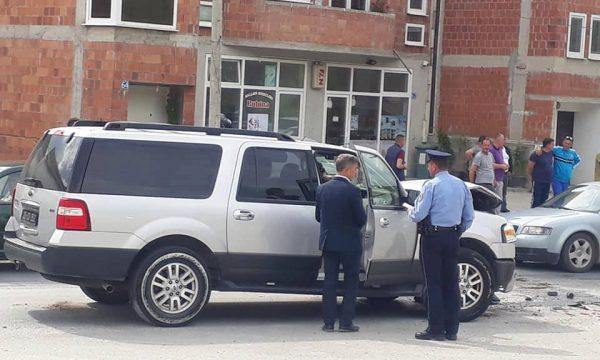 Aksident në Han të Elezit, përplasen dy vetura diplomatike