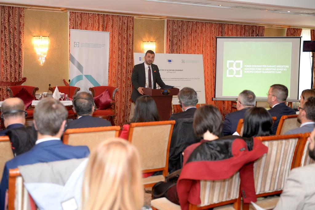 Limaj: Marrëveshja e Fondit Kosovar me COSME do të kontribuojë në lehtësimin e bizneseve për marrjen e kredive