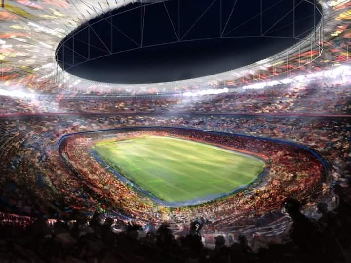 ZYRTARE: Kjo është koreografia që do të shfaqet në Camp Nou për ndeshjen ndaj Liverpoolit