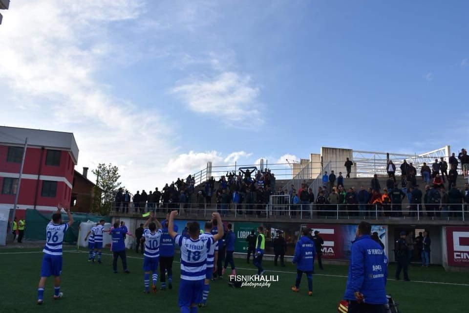 Skuadra e Ferizajit: Të dielën i gjithë qyteti në stadium