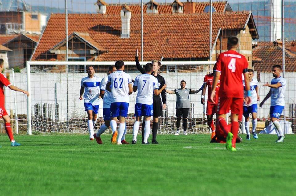 Shënohet tjetër gol në ndeshjen, Drita – Prishtina