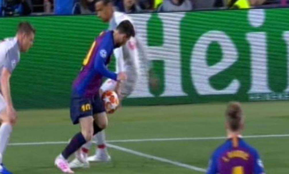 Ish-gjyqtari spanjoll: Barcelonës iu mohua një penallti kundër Liverpoolit