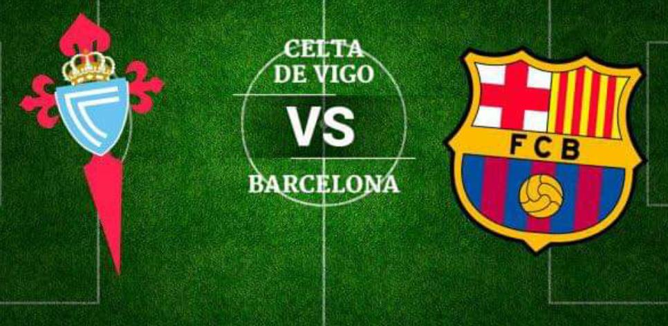 Celta – Barcelona, formacionet zyrtare