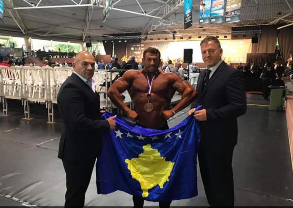 Kosova  fiton tri medalje në evropianin e bodybuildingut