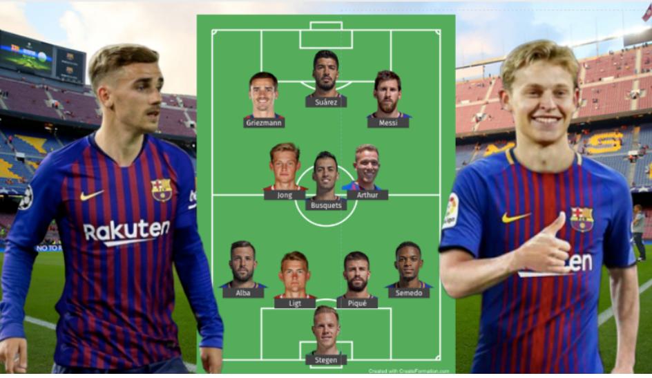 Ky pritet të jetë formacioni i frikshëm i Barcelonës për sezonin e ri