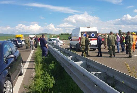 Disa të lënduar në një aksident në Rrugën e Kombit në Shqipëri