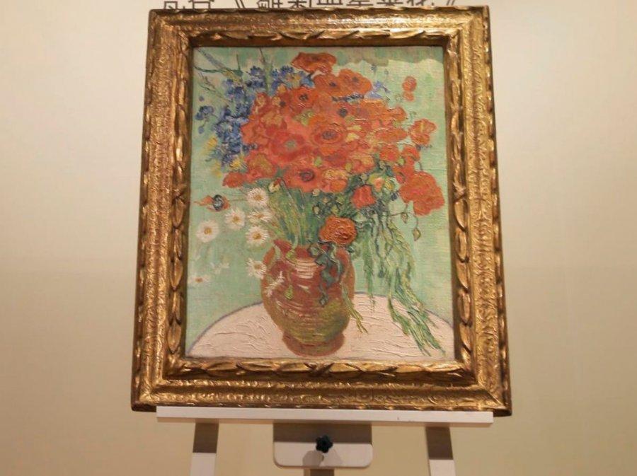 """Zbulohet vërtetësia e pikturës """"Vazo me lulëkuqen"""" e Van Gogut"""
