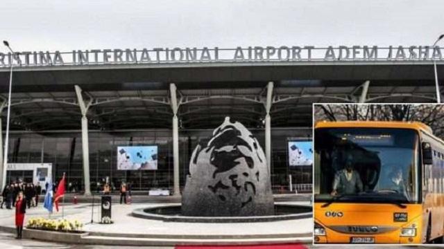 Nga sot linjë e rregullt e autobusit Prishtinë-Aeroport-Prishtinë